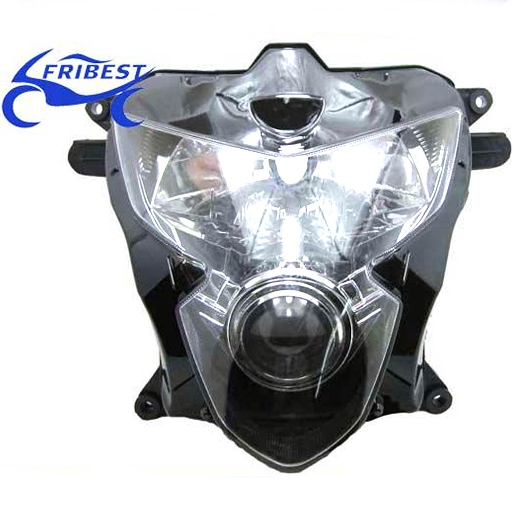 FHLSU003 For GSXR600 GSX750 2004 2005 K4 2004 2005 Motorcycle Headlight Assembly Clear Lens