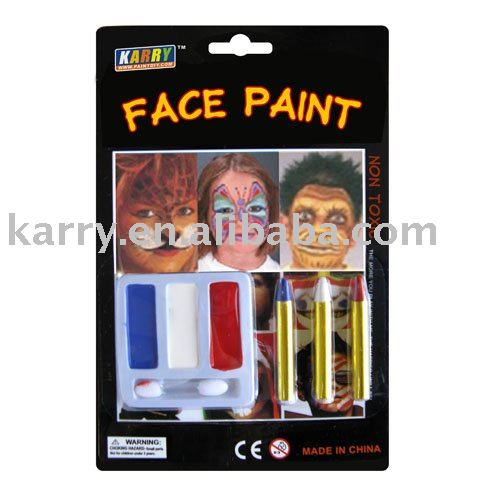 Children camouflage face paint(safe,non-toxic)