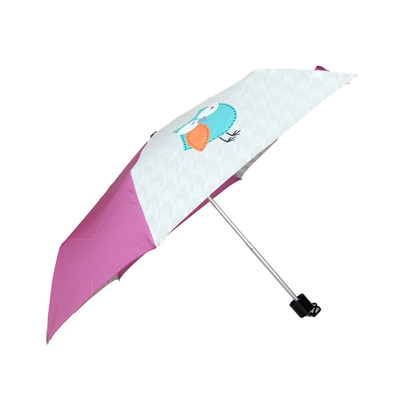 Hot Cheap Cost 3 folding lovely animal Umbrella
