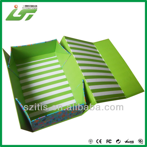 Fashional printing templates for paper folding box