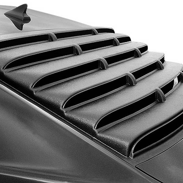 oem thermoforming plastic car rear window louvers