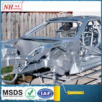 Automobile paint of finish