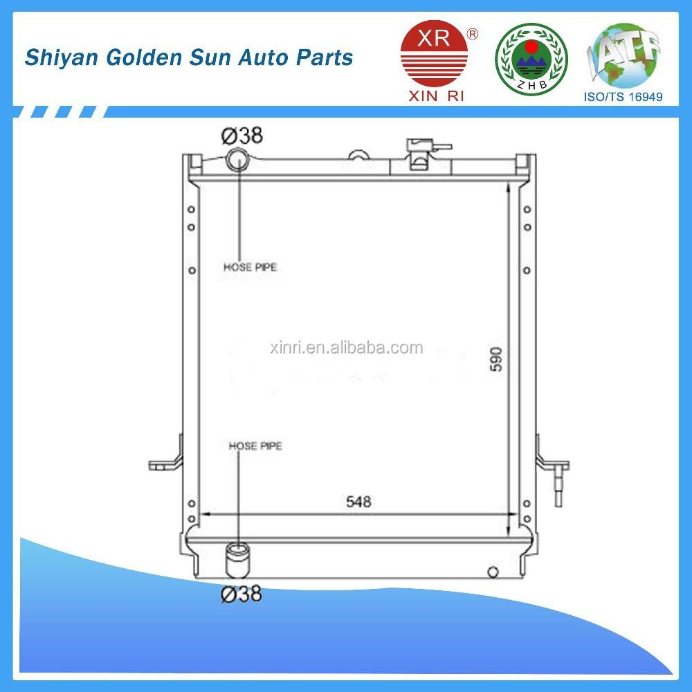 China Isuzu Radiator Wholesale Alibaba 4he1 Engine Diagram