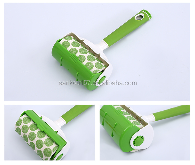 household new design floor cleaning colorful lint remover roller