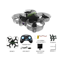 Makerfire Mini Wifi FPV drone Quadcopter with Camera 2.4G 4CH 6-axis Gyro Altitude Mode