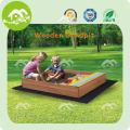 Wholesale fir wood sandbox kids, 2kids one sandbox