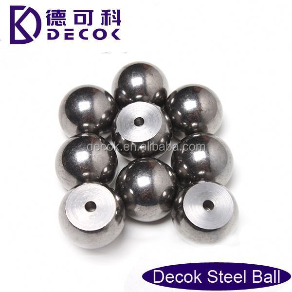 "Luggage parts decorative 1.588 mm 5/16"" nickel plated mild carbon steel ball"