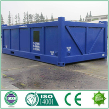 Global warranty CIMT marine 15' half height open top container tank container