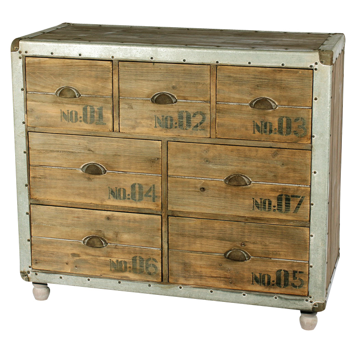 New design high quality classic chest of drawers for garden furniture
