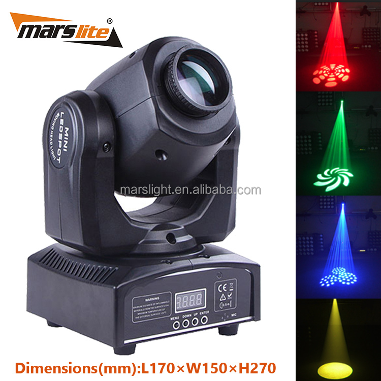 China supplier best selling disco equipment led mini moving head light