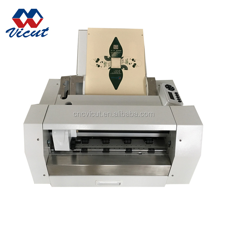 High Precision Red Light Position Digital Sheet Vinyl Label Die Cutter