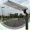 20 Watt -LED Solar Street Light All in One Solar with Sensor Series - Professional Grade Street Solar Light