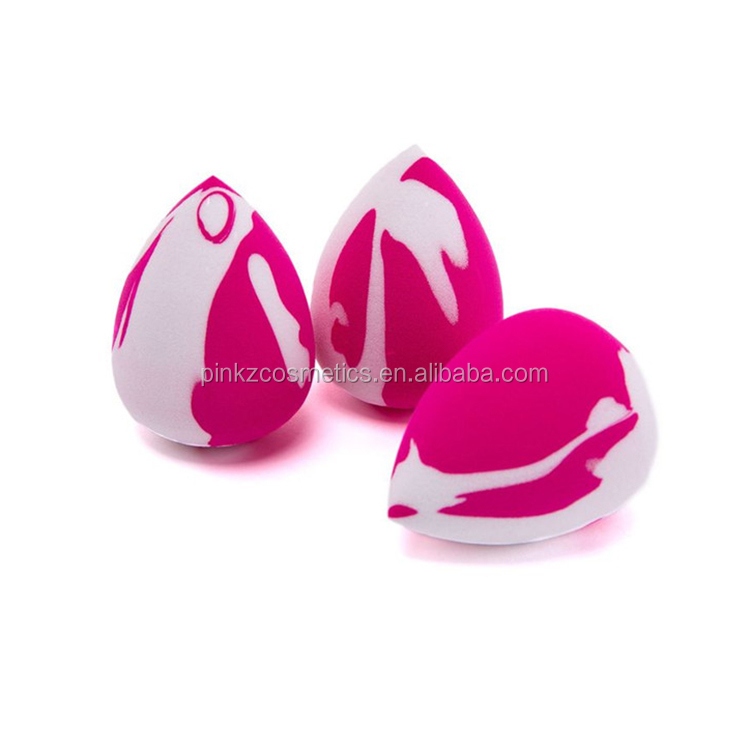 OEM Private label beauty makeup sponge egg shape/ Teardrop blending makeup sponge egg cosmetic manufacturer