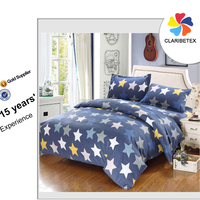 on sale 100% cotton European printing bed sheet sets design for hotel/home