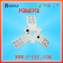 Independent research and bending PCB board ,3D metal PCB
