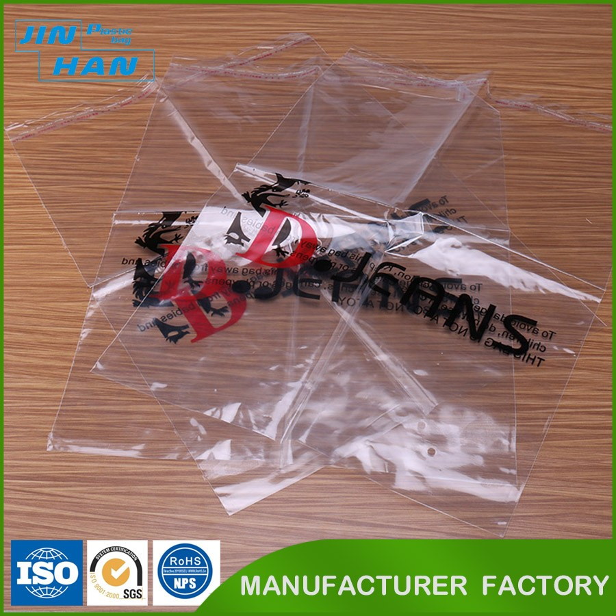 Accept Custom Order Plastic Package Custom Plastic Bag Printing