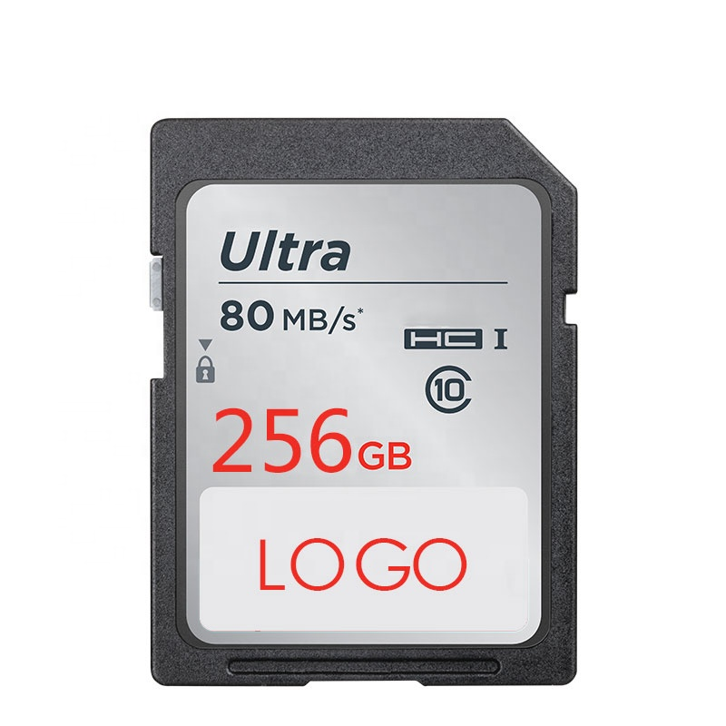 factory price OEM logo SD memory sd card 256gb 128 gb 64gb 32gb 16gb for mobile phone car GPS camera