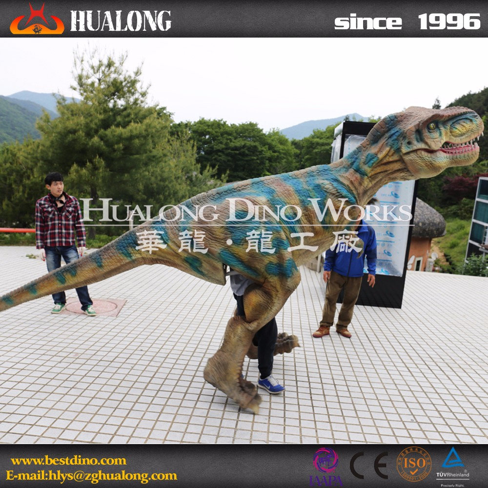 Artificial Realistic Adult Dinosaur Suit