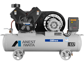 high quality anest iwata silent used portable air compressor 250L