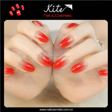 Professional full color acrylic stiletto nail tips natural nail tips wholesale