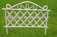 Lattice fence decorations
