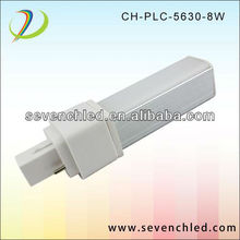 G24 PLC LED Lamp with 2Pin or 4pin Isolated Driver 85-265V 13W 30SMD