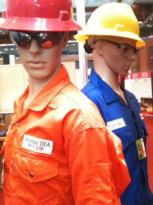 Sherwood Branded Fire retardant Coverall