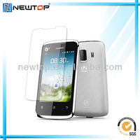cell phone protective anti-fingerprint screen shield for HUAWEI T862 Y200T