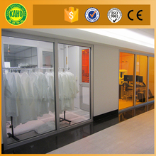 Thickness customized 5- 12mm tempered Anti-fire/ fire proof glass tempered glass from manufacturer