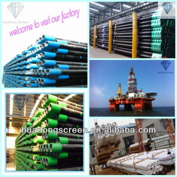 galvanized square steel pipe/oil casing drilling pipe(Manufacturer)