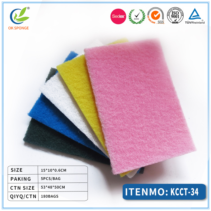 Wholesale / kitchen cleaning scrubber /scouring pad