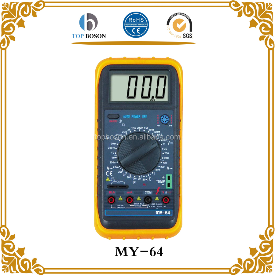 Professional automotive multimeter MY-64
