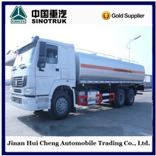 Sinotruk HOWO 6*4 liquid nitrogen tanker truck for sale