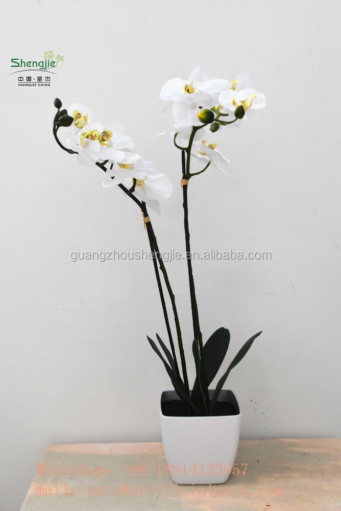fake phalaenopsis flowers ,white butterfly orchid,artificial butterfly orchid