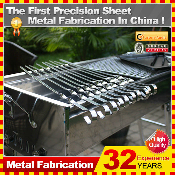 2014 Professional Custom gas burners for bbq/korean bbq grill table/bbq grill cover