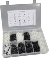 TC BV Certification 370pc Hardware Assorted Plastic Retaining Clips