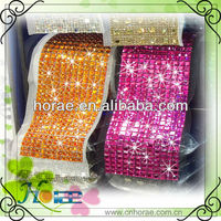 fashion wedding acrylic crystal rhinestone banding