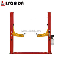 LY240P Hot sale garage used cheaper price car hoist 2 post car lift 4000kg CE two post car lift