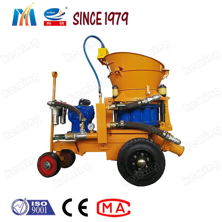 Wet Coal Mine Shotcrete Machine For Sale