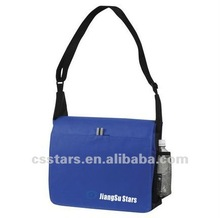 Royal blue non-woven shoulder messenger bag