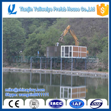 High Preformance with wood board decoration house for resort