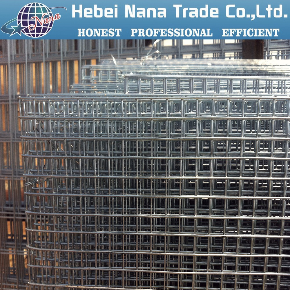 Heavy Duty Welded Wire Mesh Panels / Galvanized Wire Mesh Netting ...