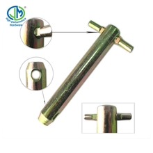 yellow zinc carbon steel Clevis roll pin for tractor accessories