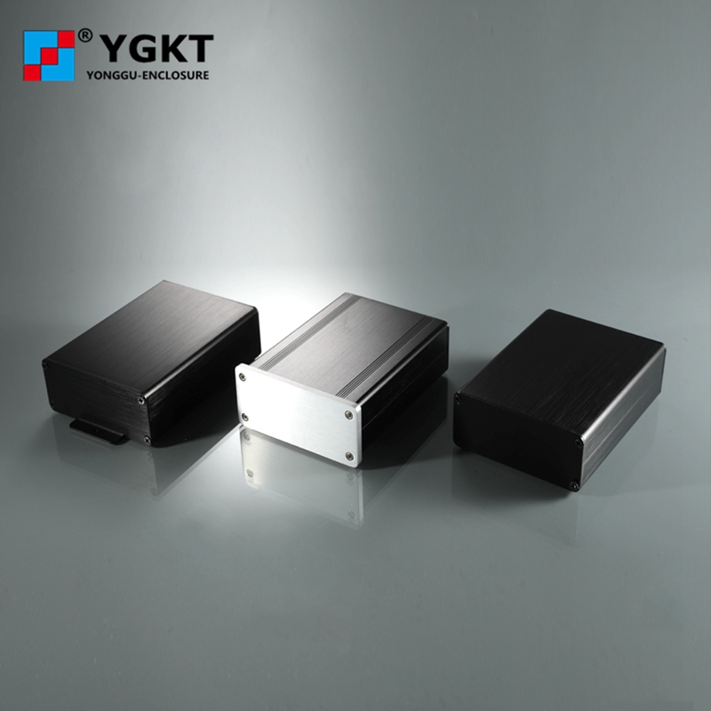YGS-008 aluminum enclosure extruded metal electronic enclosure metal electronic box for electronic heatsink enclosure 88*38-<strong>D</strong>