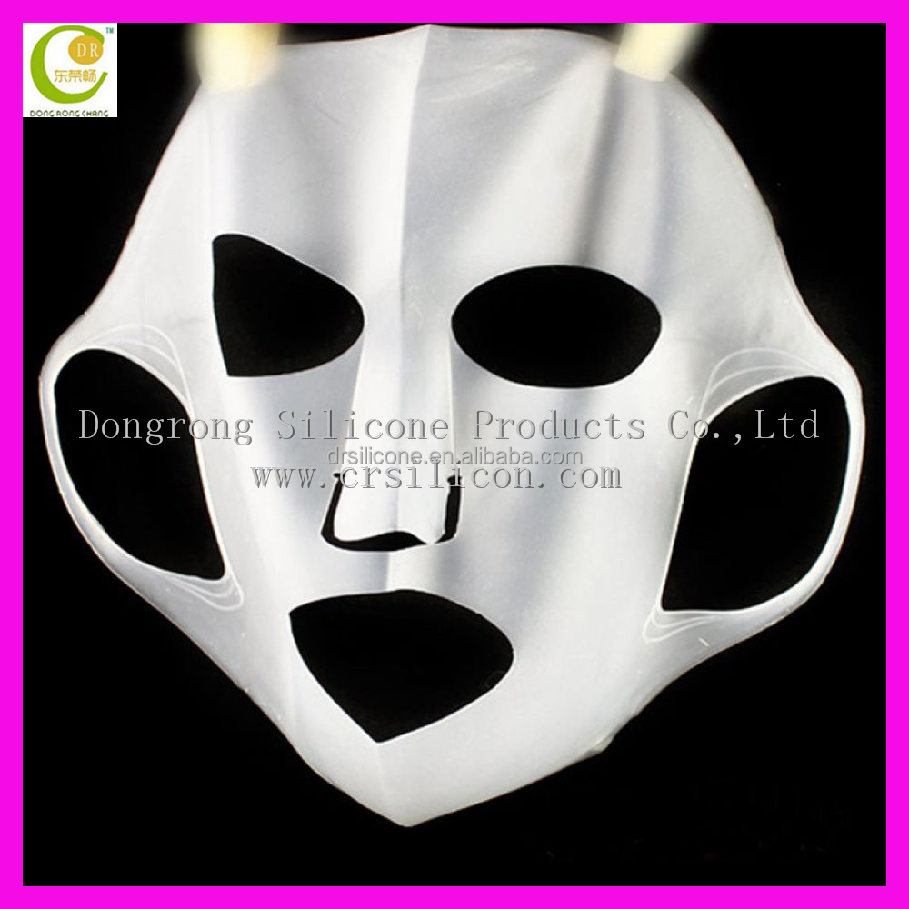 Reusable Silicone Face Mask Prevent Water Evaporation women mask in silicone