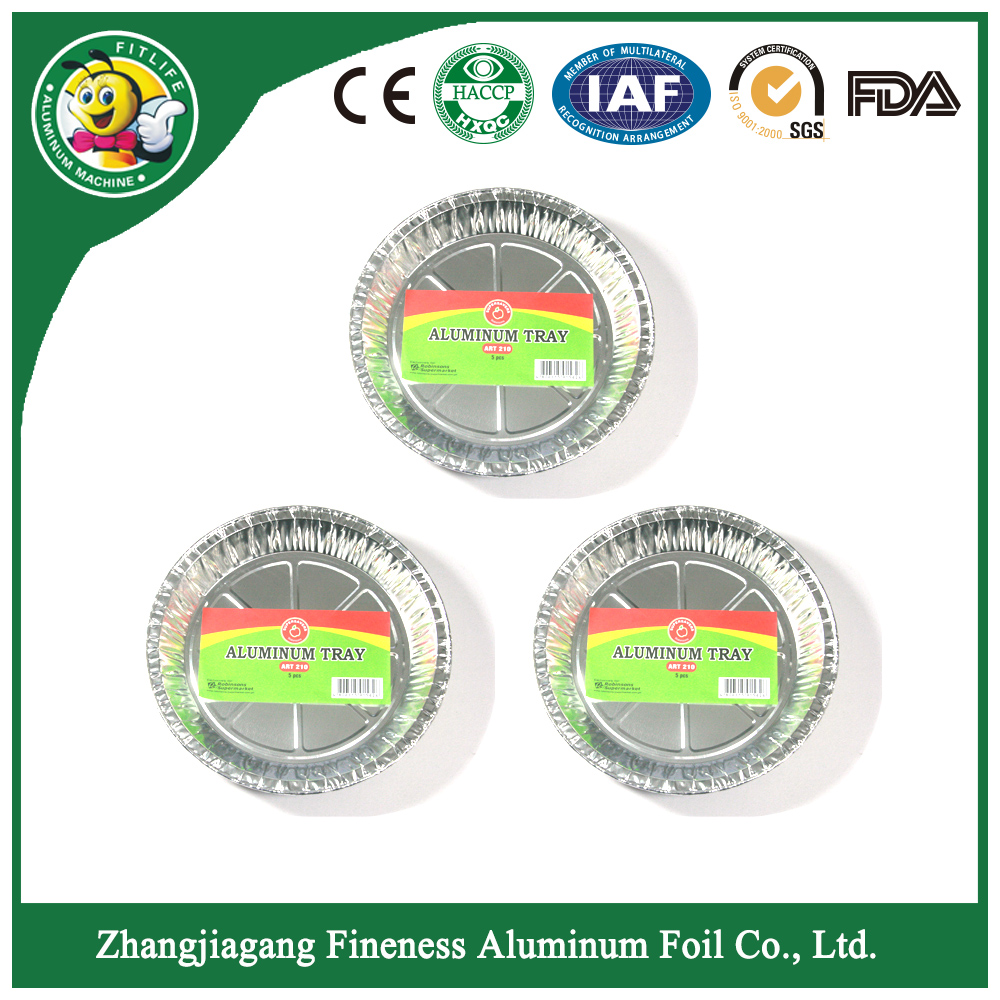 customized high quality aluminum foil dish