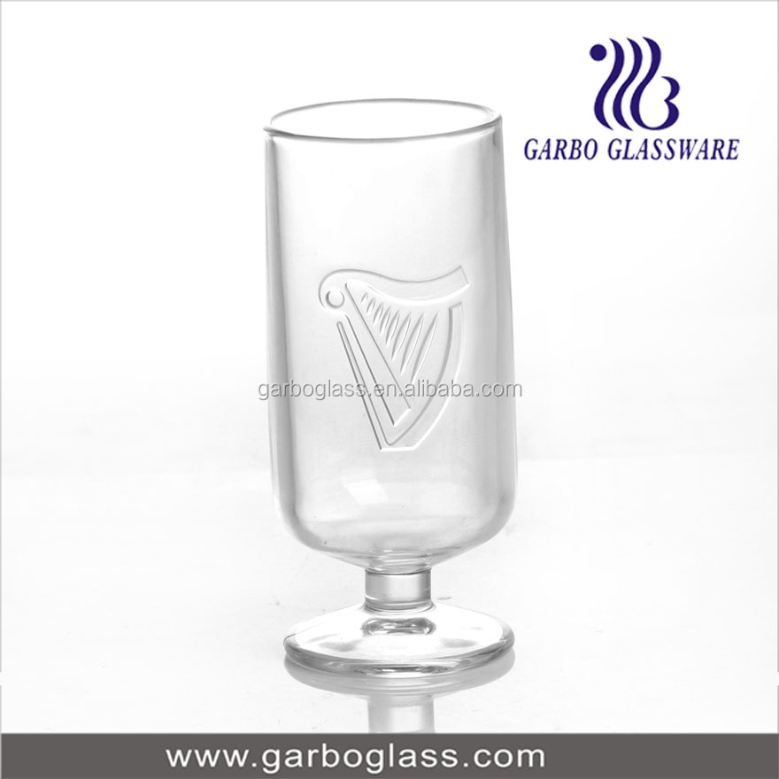 new design glass dessert cup/ ik ea style glass juice cup
