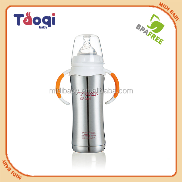 240ML Stainless Steel Baby Bottle Manufacturing/ Baby Feeding Bottle
