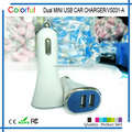 Fashion customized wireless car charger, mobile phone used quick charge 2.1 car charger