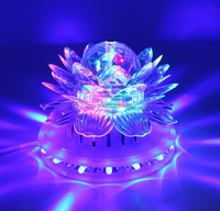 LED lotus lamp